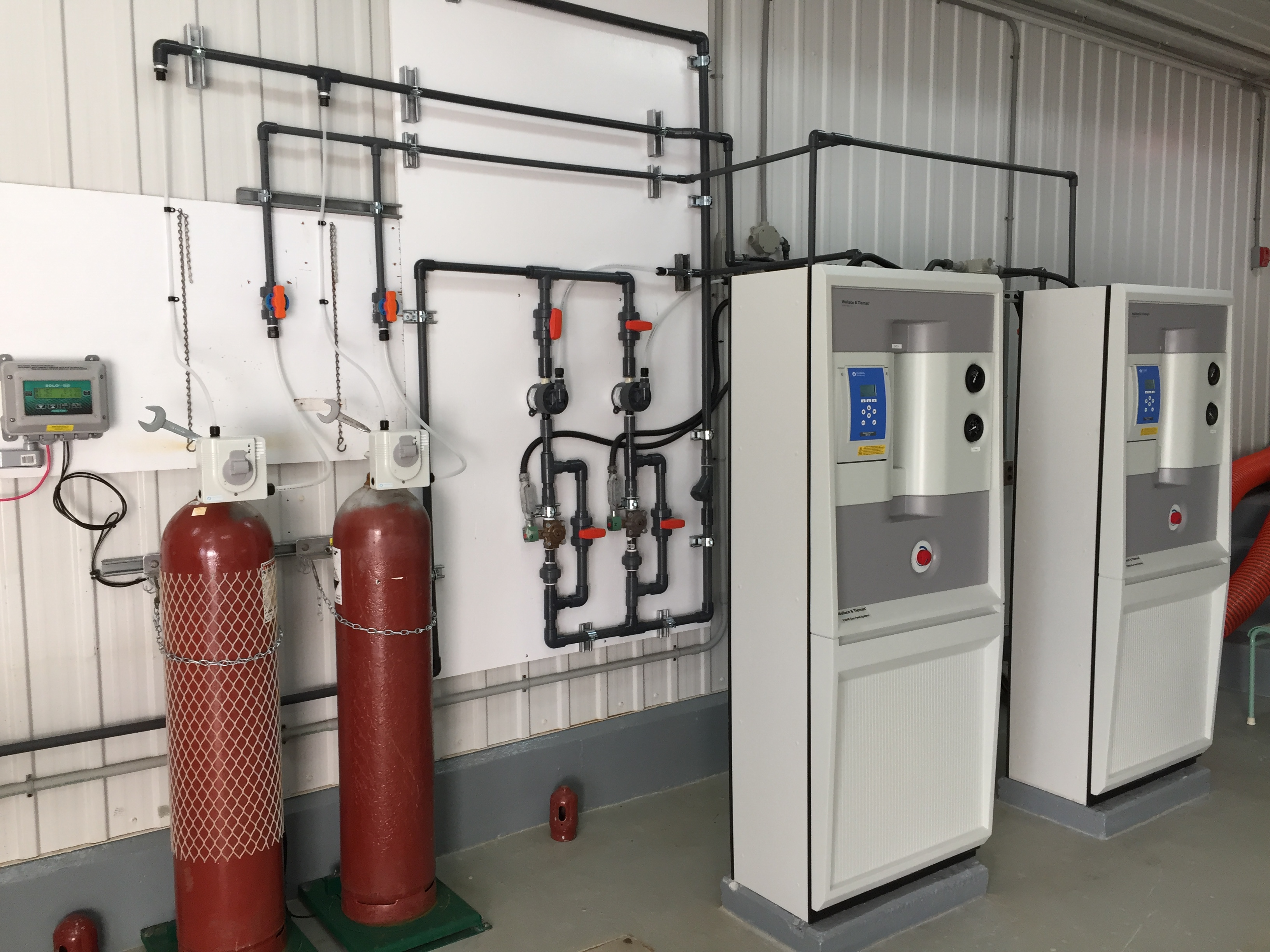 Chlore gazeux – Gas chlorine systems